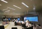 Centro de Controle Operacional (CCO) do Metrô - Paraíso  Centro de Controle Operacional do Metrô, onde é feito o controle de tráfego e o acompanhamento de toda a operação, 24 horas por dia
